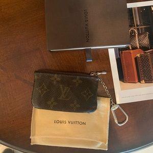 Louis Vuitton key coin pouch